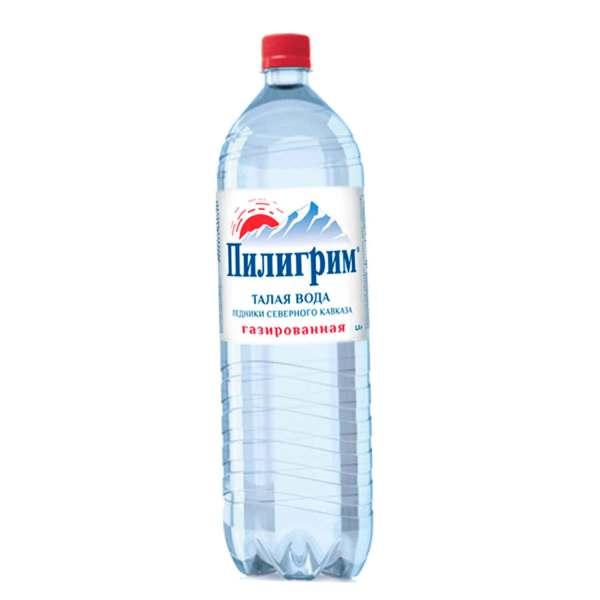Вода с газом Пилигрим 1.5 л