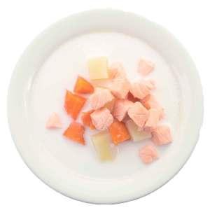 Рыбный суп с картофелем и лососем