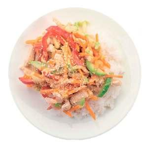 WOK с Курицей по тайски