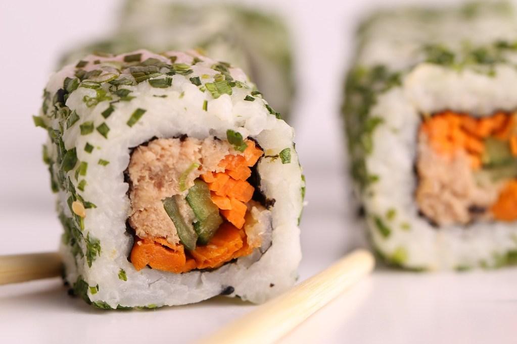 sushi, fish, japan