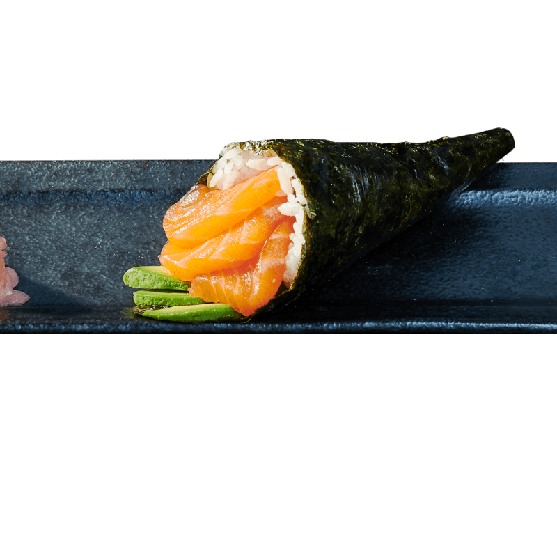 Temaki Salmon and Avocado