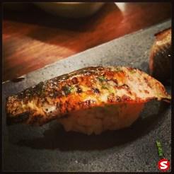 "ayu (river trout ""sweet fish"") nigiri"