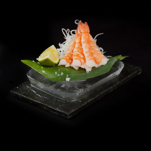 Sashimi Hiidkrevett sushi