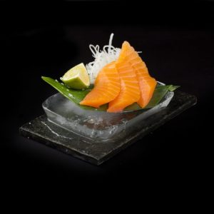 Sashimi Suitsulõhe sushi