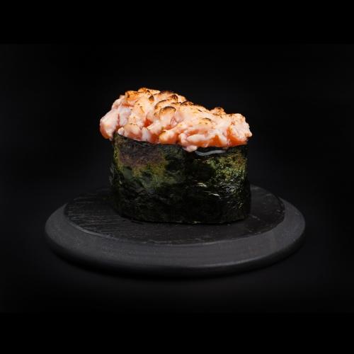 Küpsetatud Lõhe Sushi
