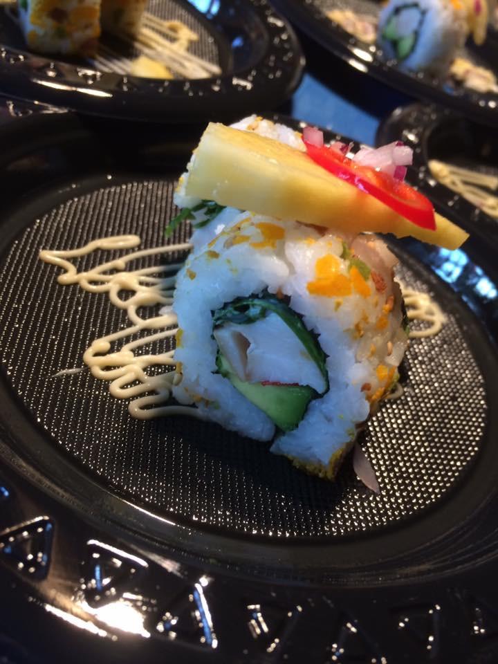 Sushi bij Horecava Langste sushibar van Nederland