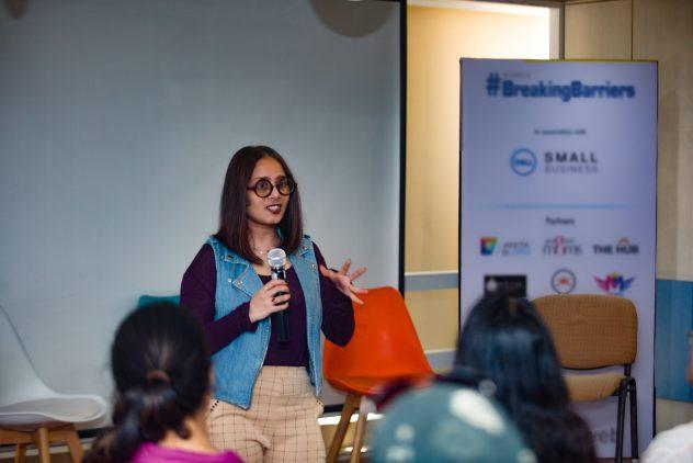 Sushmita Jain speaking