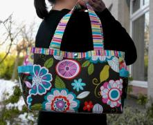 Abigail Nappy Bag Sewing Pattern by SusieDDesigns