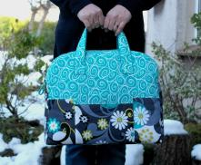 Weekender Travel Bag Sewing Pattern by SusieDDesigns