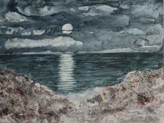 Moonlit Sea III