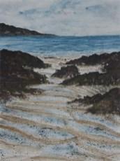 Sea leaves its Mark