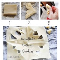 Snowflake Cut-Out Cookies