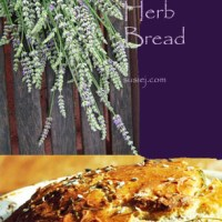 Sourdough Lavender Herb Bread