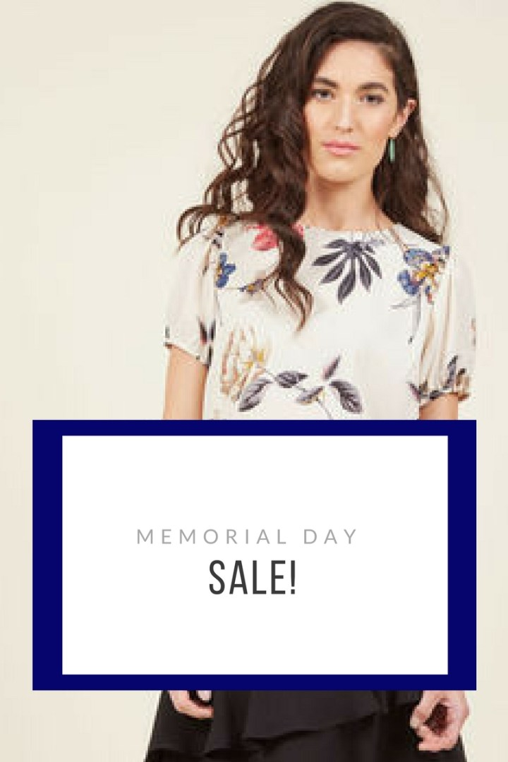 Ladies Fashion Memorial Day SALE!!