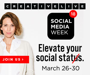 CreativeLive Social Media Week 2018!