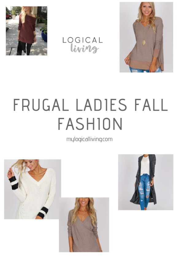 Frugal Ladies Fall Fashion