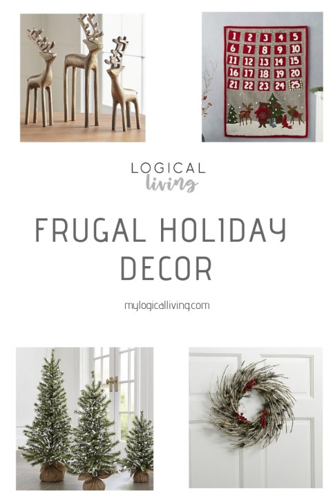Frugal Holiday Decor