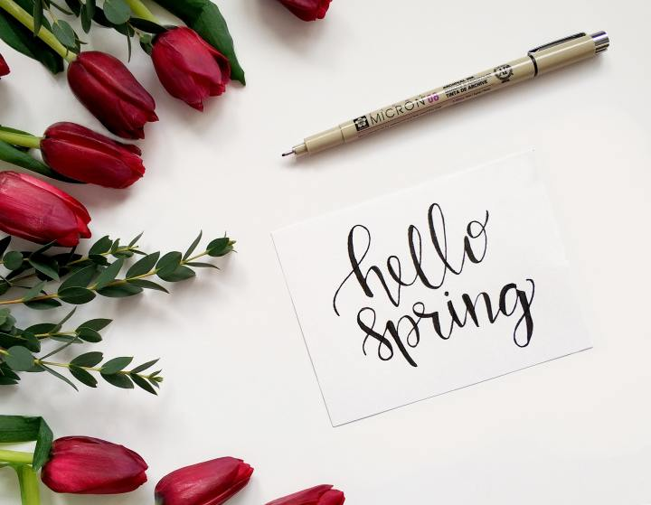 Spring Office Decor Finds
