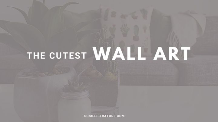 The Cutest Christian Wall Art