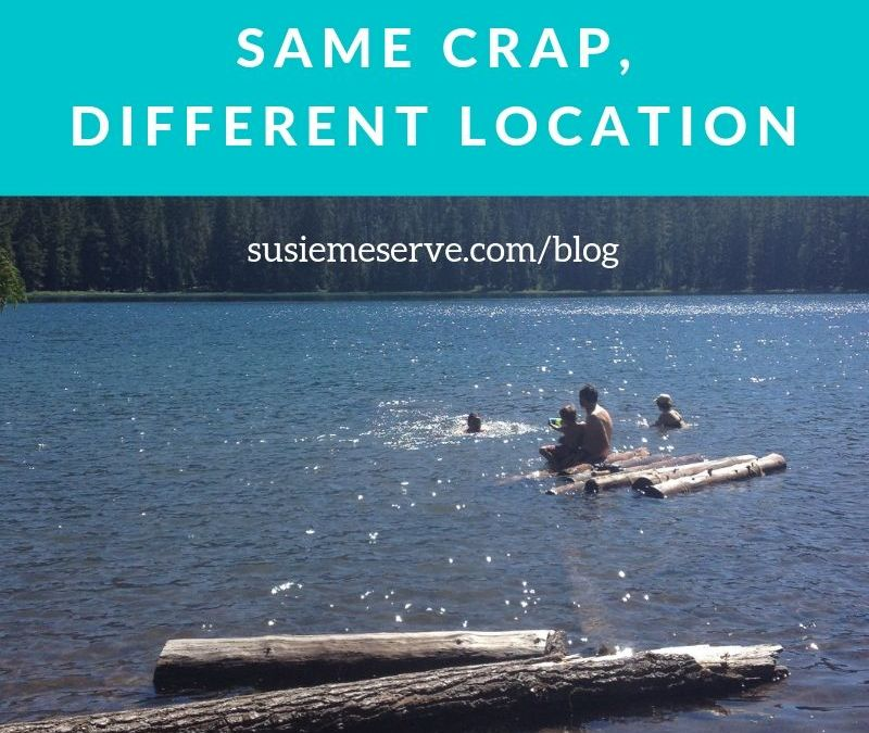 Family Vacation: Same Crap, Different Location