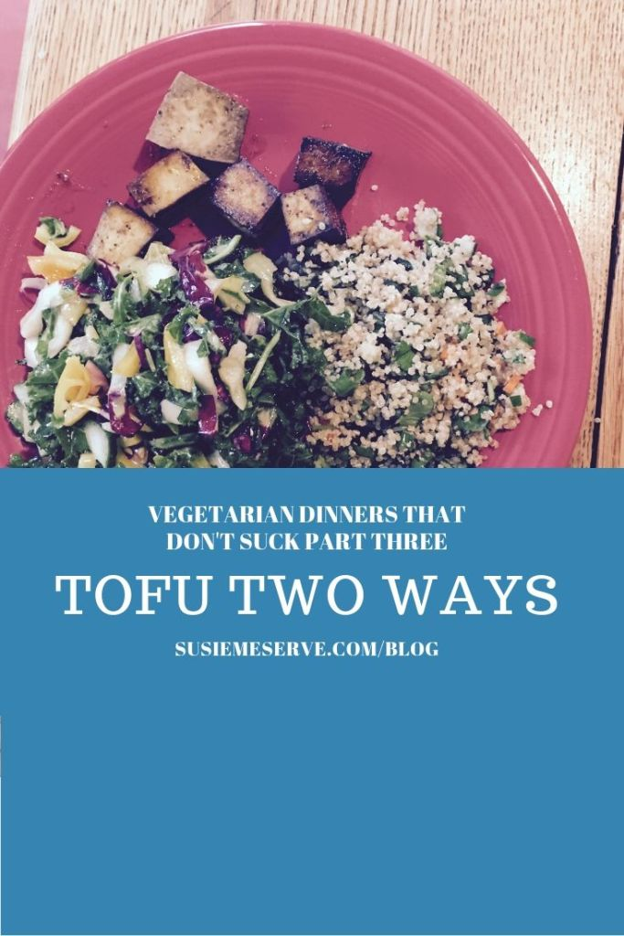 Tofu makes a healthy, delicious vegetarian dinner that even diehard meat lovers will eat.