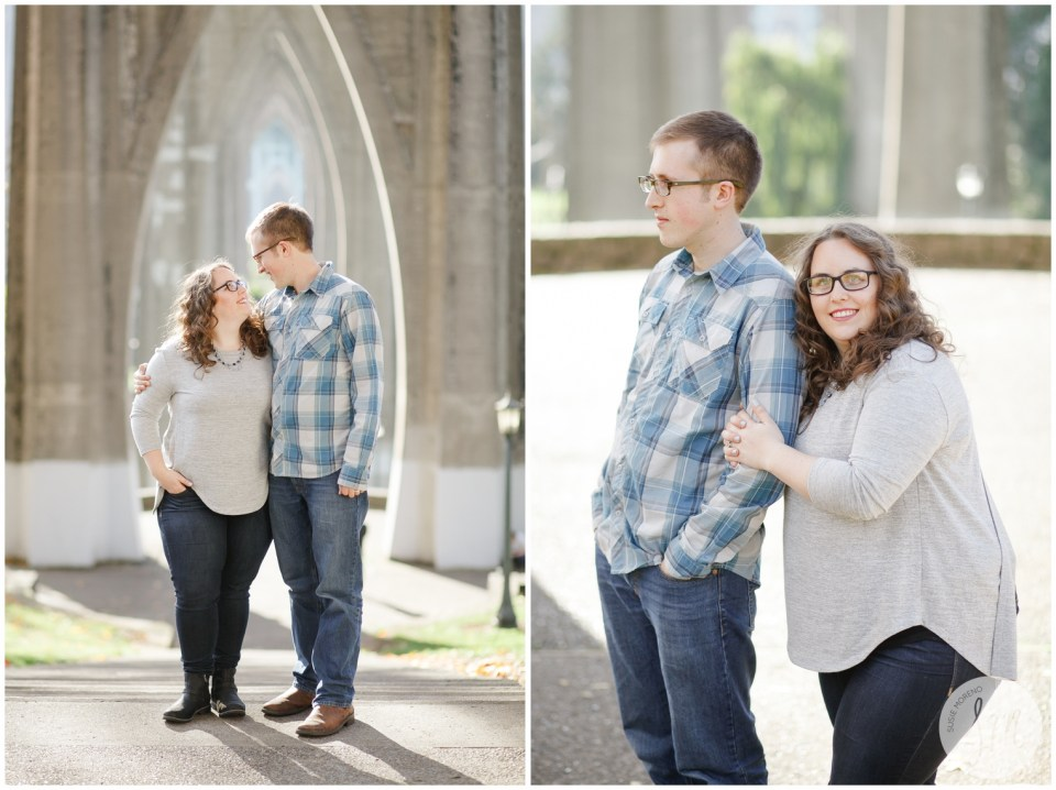 Holiday Couple Portraits | Susie Moreno Photography