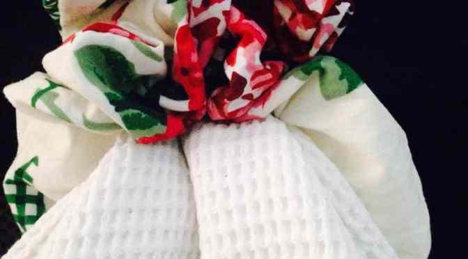 Hand Towel Scrunchies