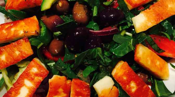 What's Cooking? … Spinach and Kalamata Salad with Sweet Lemon Dressing