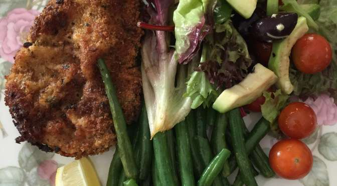 What's Cooking?…Crumbed Pork Chops
