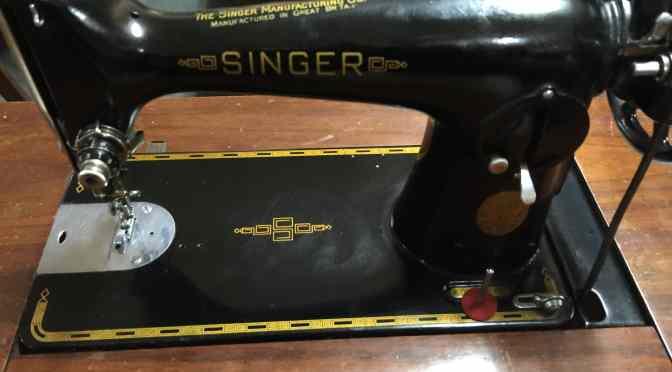 Singer 201K Treadle C1947