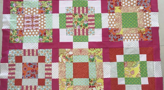 On the Tiles Baby Quilt