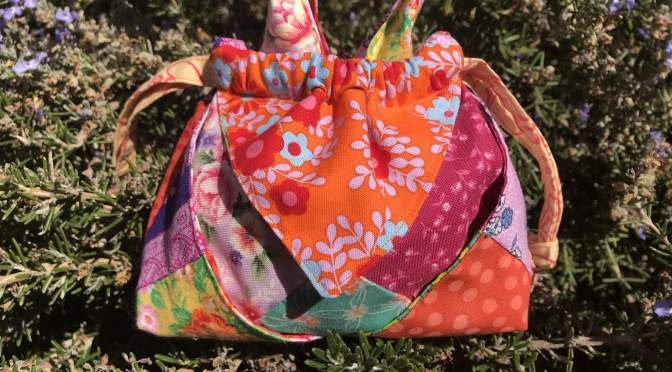 Little Origami Patchwork Bag Tutorial