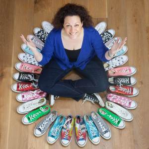 Jill Bryan and her converse collection