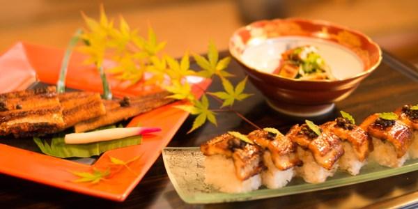 寿司一の焼きあなご