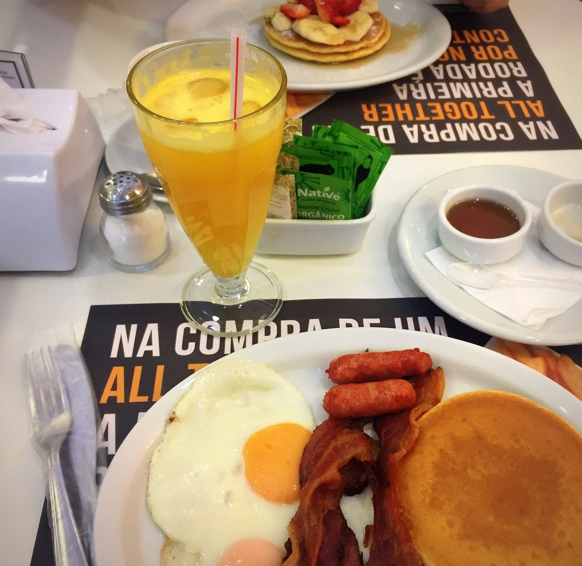 Breakfast - A Chapa - Panquecas americanas #resenhagastronômica