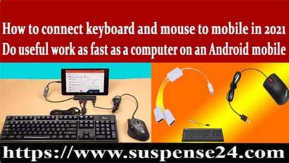 Trick For Connect A Keyboard And Mouse To Android in 2021