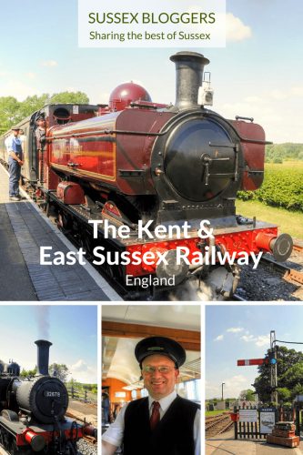 The Kent and East Sussex Railway, England