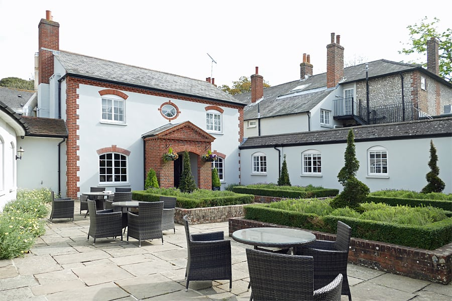Spring at The Goodwood Hotel, near Chichester, West Sussex