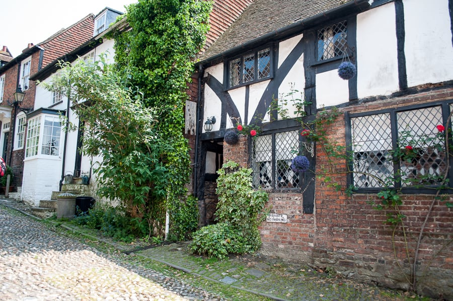half timbered houses in Rye