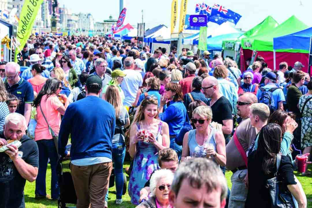 Brighton Food festival - Sussex and the World Weekend on Hove Lawns