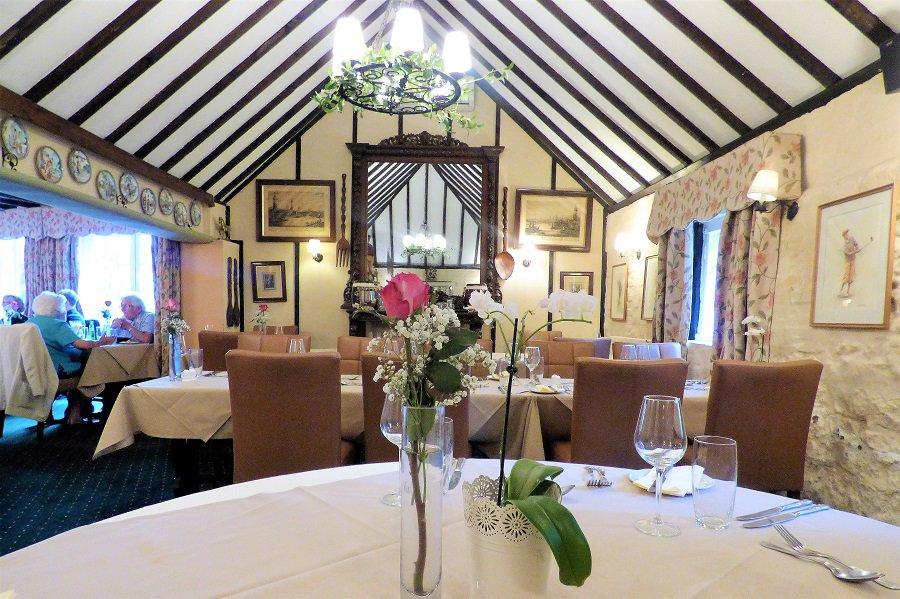 The restaurant at the Ingelnook, nyetimber, Bognor Regis, West Sussex