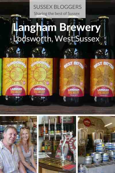 Great beer, live music and conkers at Langham Brewery, Lodsworth, West Sussex, England,