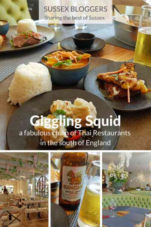 One of the best Thai restaurants in Sussex, Giggling Squid #Chichester, #WestSussex, #England