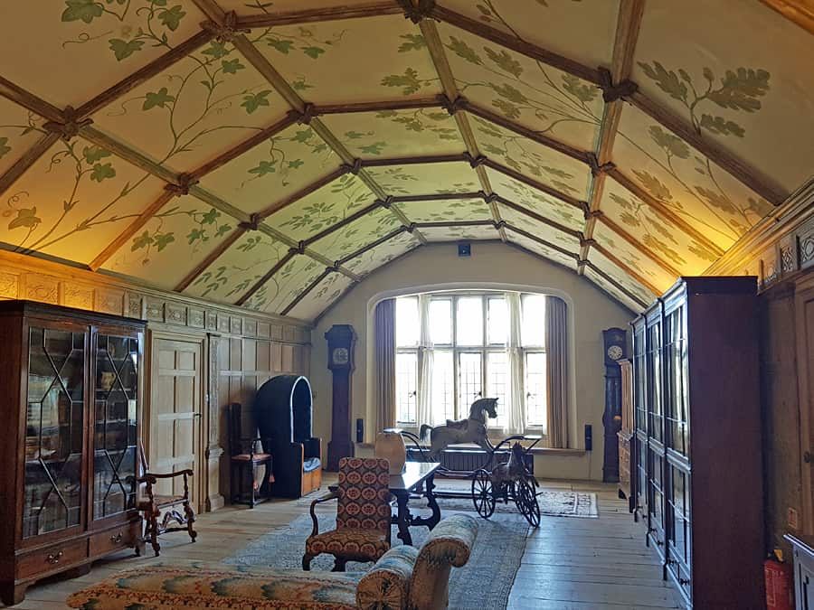 The Long Gallery, Parham House, West Sussex