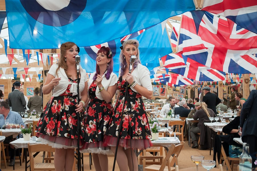 Goodwood Revival Mess Hospitality
