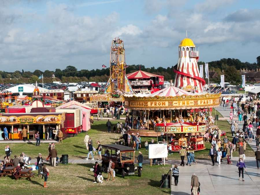Funfair at Goodwood Revival