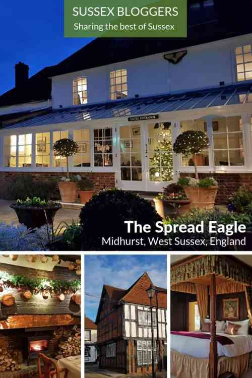 The Spread Eagle at #Christmas, #Midhurst, #WestSussex, #England