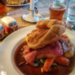 Best Sunday roast in West Sussex, Roast beef at The George Eartham, West Sussex