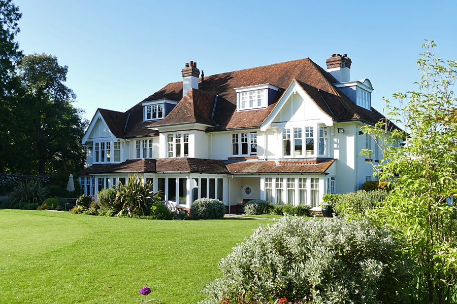 Park House Hotel and Spa, an elegant Edwardian country house hotel, West Sussex