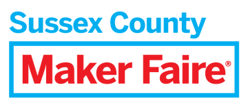 Maker Faire Sussex County logo